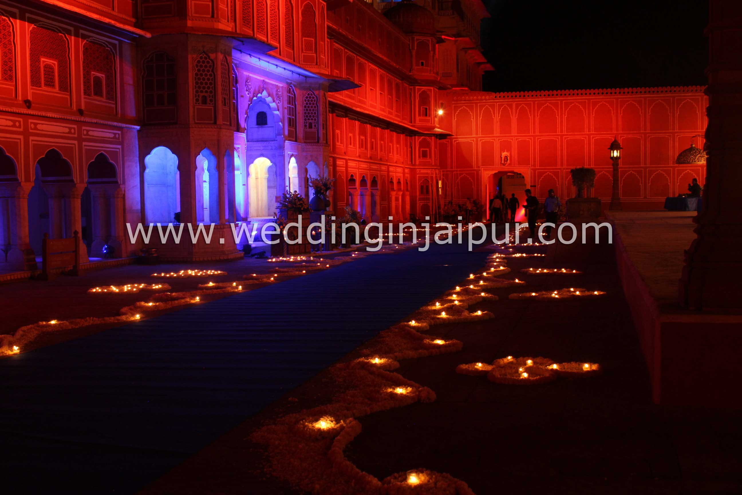 Wedding event city palace jaipur traditional rajasthani and mughal art and architecture the city palace complex houses several palatial structures in the heart of the old jaipur city junglespirit Images