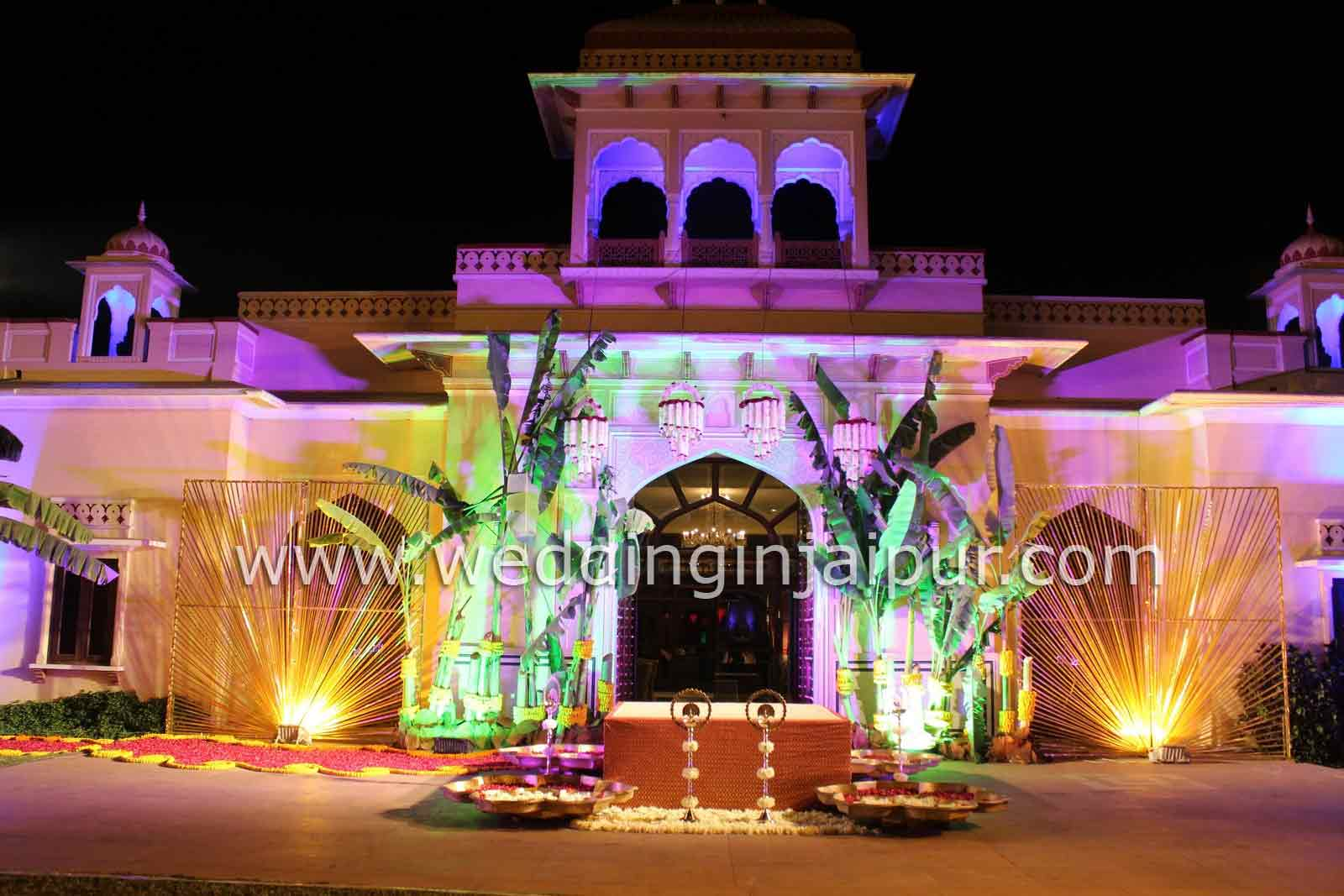 Located Close To The Airport Rambagh Palace Former Residence Of Maharaja Jaipur Is Spread Over 47 Acres Gardens